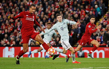 Champions League - Round of 16 First Leg - Liverpool v Bayern Munich