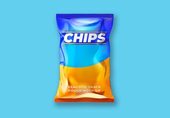 Chip Bag Mockup