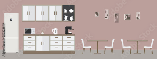 Miraculous Pink Office Kitchen Dining Room In Office There Are Download Free Architecture Designs Jebrpmadebymaigaardcom