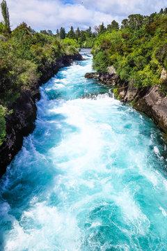 Huka Falls in Taupo, New-Zealand