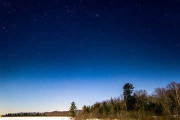 star sky lake