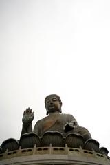 Big Buddha Statue in Hong Kong