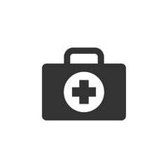 First aid icon design template vector isolated