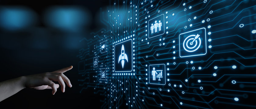 Start-up Funding Crowdfunding Investment Venture Capital Entrepreneurship Internet Business Technology Concept