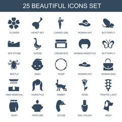 25 beautiful icons