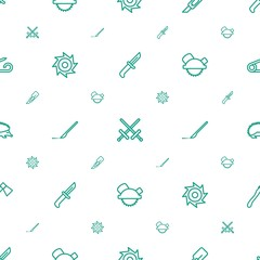 sharp icons pattern seamless white background