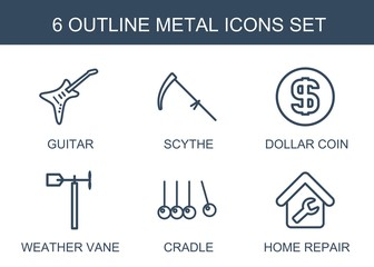 metal icons