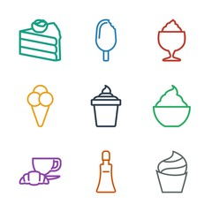 cream icons