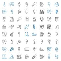 scoop icons set
