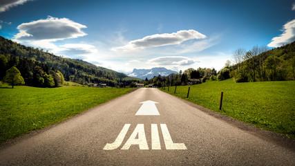 Sign 401 - Jail
