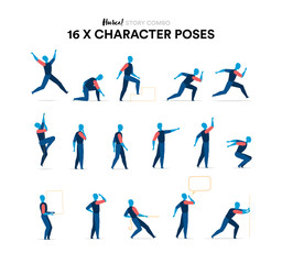 Character poses collection