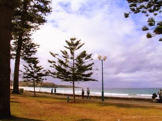 Manly. Beach of Sydney. Australia