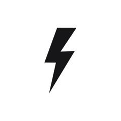 Lightning icon, energy icon