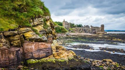 Castle Sands Beach St Andrews Scotland Fototapete