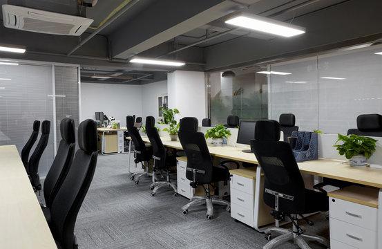 Simple office interior