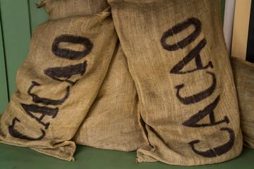 Sacchi di cacao