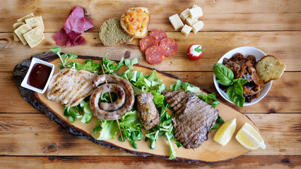 tagliere di carne mista