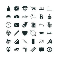 36 business icon set