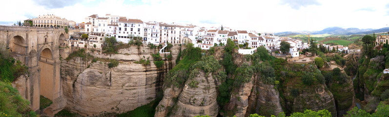 city of ronda, andalusia, spain