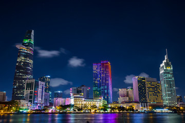 Cityscape of Ho Chi Minh City, Vietnam