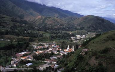 andean village, venezuela
