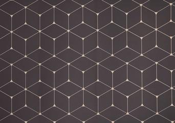 Geometric pattern on color background. Modern design