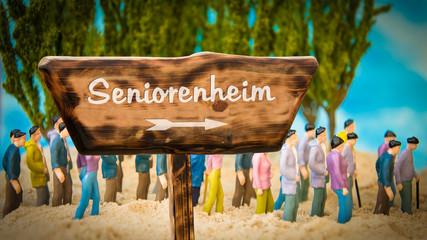 Schild 365 - Seniorenheim