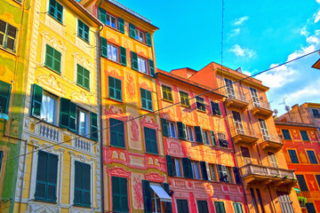 historic buildings in santa margherita ligure liguria italy