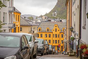 Ålesund city street