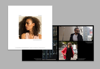 Square Portfolio Presentation Brochure  Layout