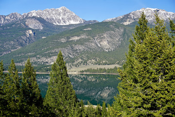 lake and mountains in British Columbia, Canada