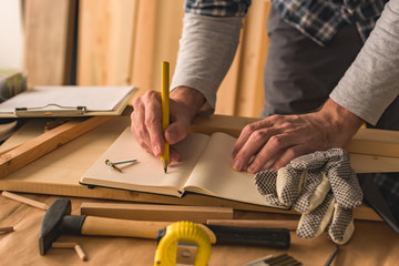 Carpenter writing project to do list