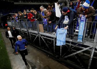 Champions League - Round of 16 First Leg - Schalke 04 v Manchester City