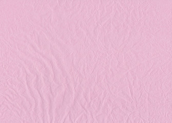 Creased Tissue Paper Pink