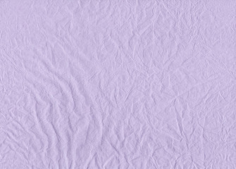 Creased Tissue Paper Light-Purple Texture Background