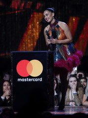 The Brit Awards at the O2 Arena in London
