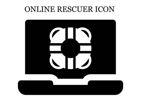 online Lifesaver icon