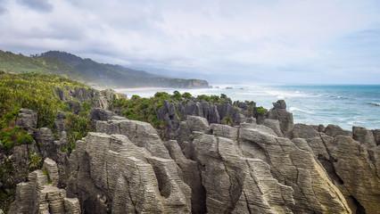 Exploring Punakaiki in New-Zealand