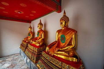 Buddha Statue in Wat Pho Buddhist Temple, Bangkok, Thailand