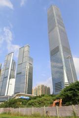ICC kyscraper,wet kowloon Hong Kong China