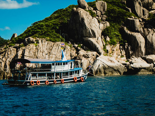 Koh Tao Bay and dive points, Thailand, paradise destination