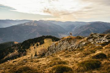 Beautiful mountain view