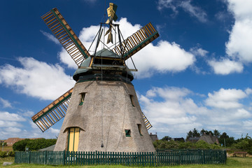 Museum windmill on Amrum