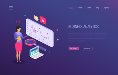 Business analytics. Strategic analysis, marketing research, financial planning, business forecasting.