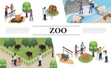 Isometric Zoo Concept