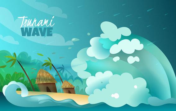 Natural Disasters Tsunami Poster