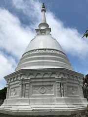 White Pagoda in Colombo, Sri Lanka
