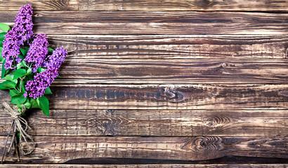 lilac bouquet horizontally Wallpaper