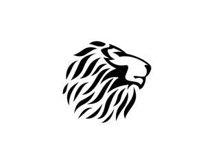 lion head logo type