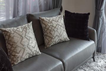 set of sofa and pillows